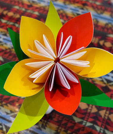 Lunar Craft 2_Paper flower