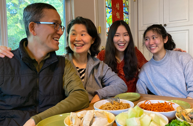 LunarFest Family Dinners - A Table of Two Countries