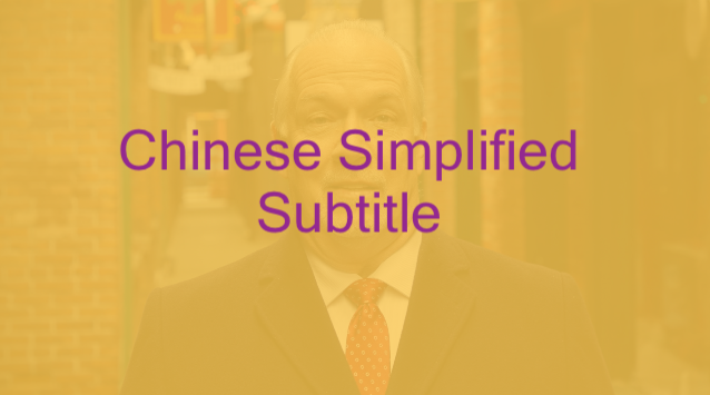 Premier of BC John Horgan_Chinese Simplified Subtitle
