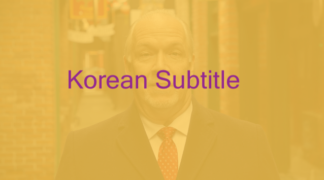 Premier of BC John Horgan_Korean Subtitle